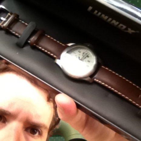Luminox Ashton Watch, Leather Band