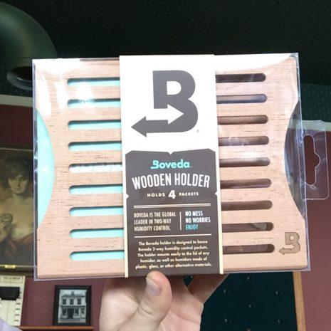 Boveda Wooden Holder, 4 Packet