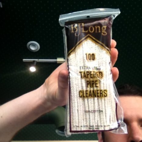 B.J.Long 100ct Tapered Pipe Cleaners 100ct.