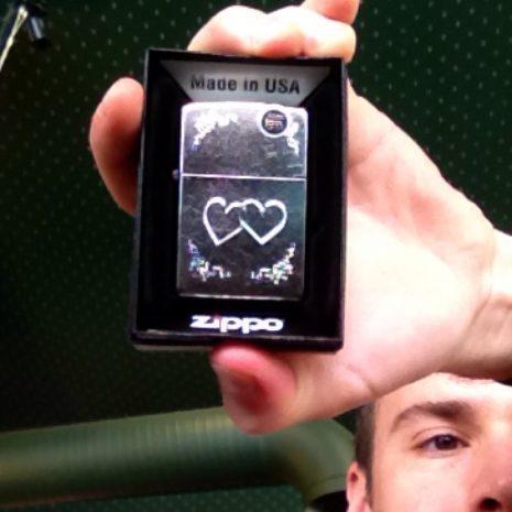 Heart To Heart Zippo