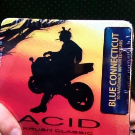 Acid Krush Blue Conn. Tin of 10, Drew Estate